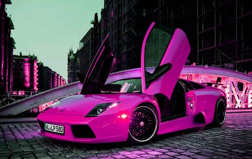 carrão rosa