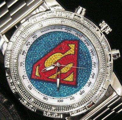 relógio superman
