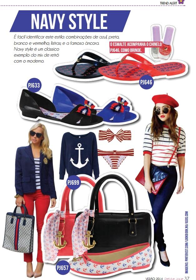 navy petite jolie