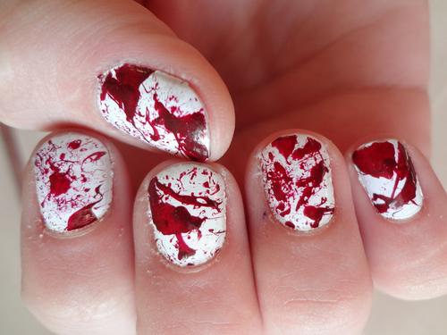 unha sangue