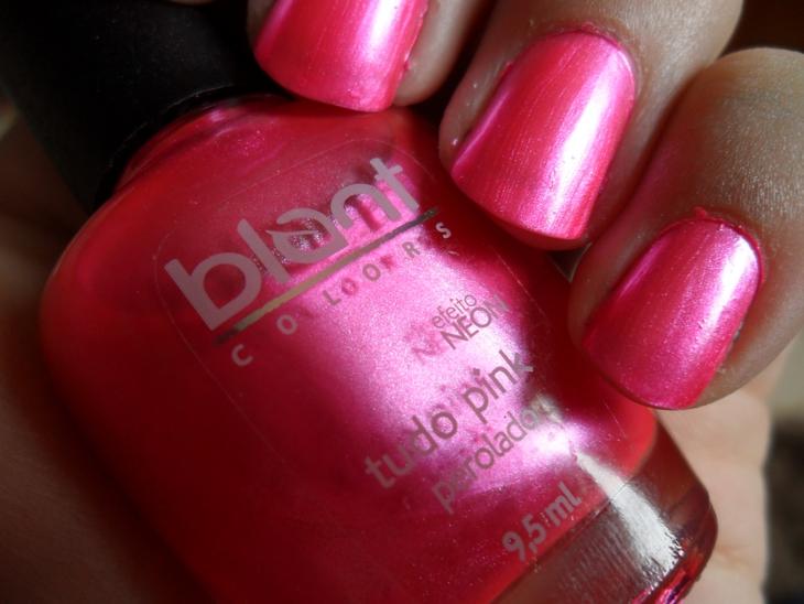 tudo pink blant