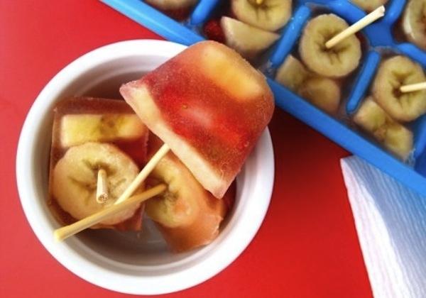 frutas com suco