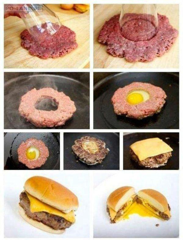 hamburguer molhado