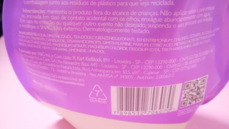 ingredientes reparação natura