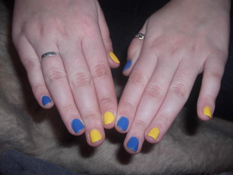 homa amarelo azul