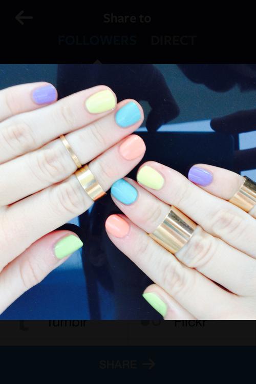 Unhas cores diferentes belle diva - Candy candy diva futura ...