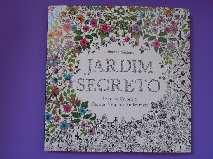 fotos jardim secreto:vim mostrar um dos livros mais fofos que já comprei: Jardim Secreto