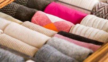 organizar meias capa
