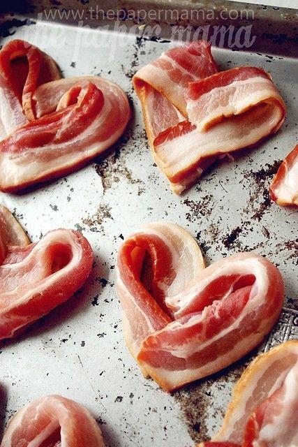 comidas romanticas bacon