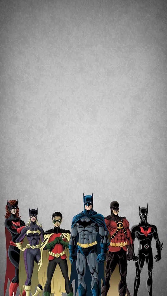 wallpaper celular ajudantes do batman