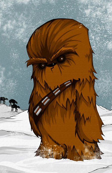 wallpaper celular chewie cute
