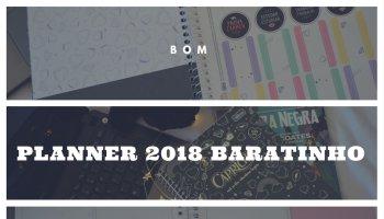 planner 2018 barato