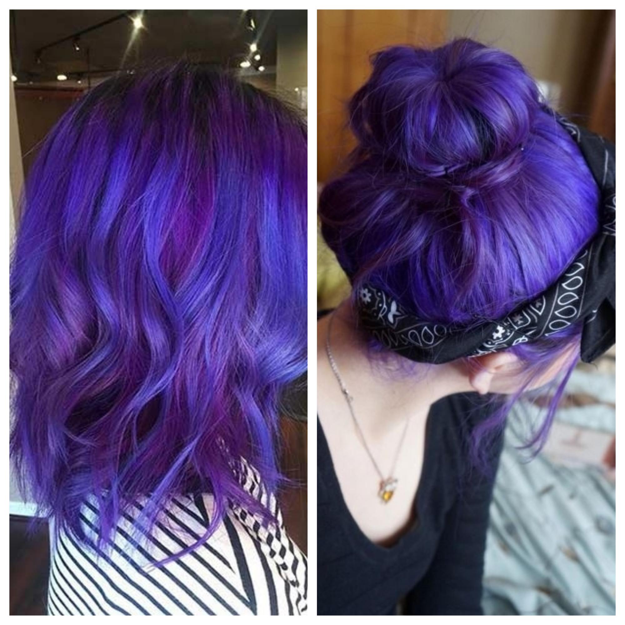 ultra violet cabelos