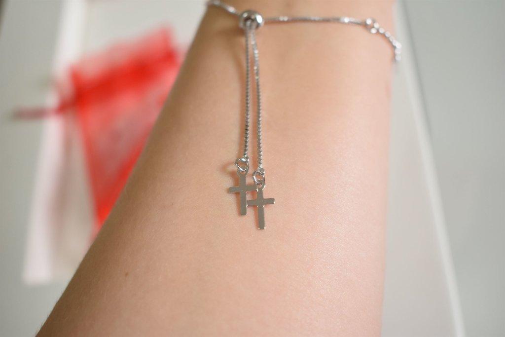 pulseira cruz